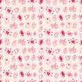Christmas - seamless pattern Royalty Free Stock Photo