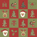Christmas seamless pattern 7 Stock Photo