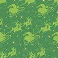 Christmas seamless pattern. Stock Photo