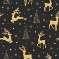 Christmas seamless pattern with reindeer background, Winter pattern with reindeer, wrapping paper, pattern fills, winter greetings