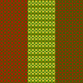 Christmas Seamless Patterns Set Royalty Free Stock Image