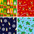Christmas Seamless Tiles [1] Stock Photography