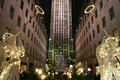 Christmas Season in New York Royalty Free Stock Photo