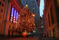 Christmas Season in New York Royalty Free Stock Photo