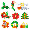 Christmas Set Stock Image