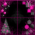 Christmas set. Royalty Free Stock Photography