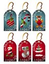Christmas set of tags Royalty Free Stock Photo