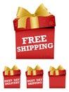 Christmas Shipping Icons