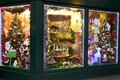 Christmas shop in London Royalty Free Stock Photo