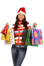 Christmas shopping Royalty Free Stock Photography