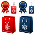 Christmas Shopping Collection Royalty Free Stock Photo