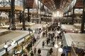 image photo : Christmas Shopping At Great Market Hall