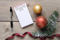 Christmas shopping list background Royalty Free Stock Photo