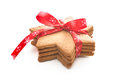 Christmas shortbread cookies Stock Photography