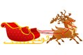 Christmas Sledge Royalty Free Stock Photography