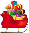 Christmas sleigh Royalty Free Stock Photo