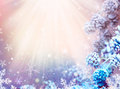 Christmas snow background winter holiday and new year Royalty Free Stock Photography