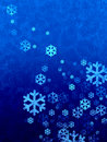 Christmas snow falling background Royalty Free Stock Image