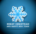 Christmas snowflake applique vector background eps with transparency Royalty Free Stock Photography
