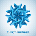 Christmas snowflake illustration. Stock Photo