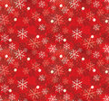 Christmas snowflake pattern seamless Royalty Free Stock Image