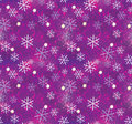 Christmas snowflake pattern seamless Stock Image