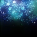 Christmas Snowflkes Background