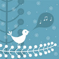 Christmas song Stock Photography