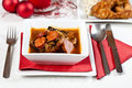 Christmas soup Royalty Free Stock Photo