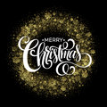 Christmas sparklers in shape of Christmas wreath Royalty Free Stock Photo