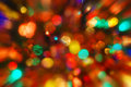 Christmas sparkling multicolor lights and sparkles Stock Photos