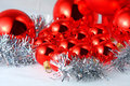 Christmas spheres Royalty Free Stock Photos