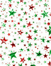 Christmas Star Field Stock Images