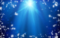 Christmas star in the night sky. Background. Christmas. Miracle. Royalty Free Stock Photo