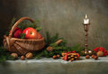 Christmas still life Royalty Free Stock Images