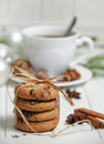 Christmas still life with biscuits Royalty Free Stock Photo