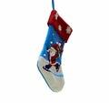 Christmas stocking isolated on white background Royalty Free Stock Photo