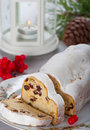 Christmas stolle Royalty Free Stock Photo