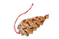 Christmas straw item Royalty Free Stock Image