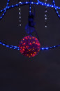 Christmas street  decoration, Royalty Free Stock Photo