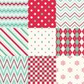 Christmas stripes geometric background