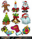 Christmas Stuff - Set 1 Royalty Free Stock Image