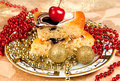 Christmas sweet food Royalty Free Stock Images
