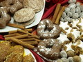 Christmas sweets Royalty Free Stock Image
