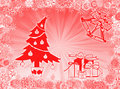 Christmas symbols Stock Photo