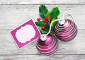 Christmas tag background Royalty Free Stock Photo