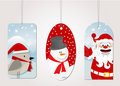 Christmas tag label Royalty Free Stock Photo