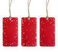Christmas Tag Set One Royalty Free Stock Photo