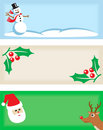 Christmas Tags 1 Royalty Free Stock Image