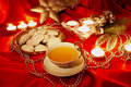 Christmas tea Royalty Free Stock Photo